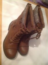Beautiful Brown Rocket Dog Charlie Boots Size 3 New Shop Clearance