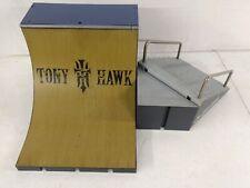 Lot of Tony Hawk Tech Deck Ramp, Foundation, Steps with 2 Railings