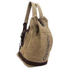 Manjianghong Backpack Man and Woman Backpacks leather canvas shoulder bag wom EL