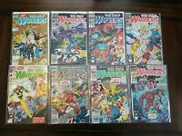 1990s Marvel The New Warriors Comics Lot of 25 Some runs, Issue #1!