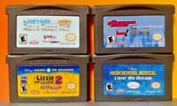 Nintendo Game Boy Advance GBA Disney Girls Lot Lizzie High School  PowerPuff