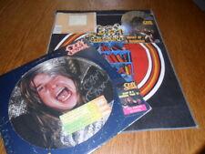 OZZY OSBOURNE RANDY RHOADS DIARY OF A MADMAN SIGNED TWICE PICTURE DISC STUB CD