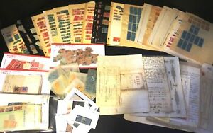 US Revenue Stamp Collection 1800s-1950s / Stamps, Documents, Checks