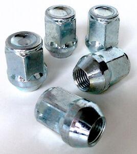Car wheel nuts bolts lugs. M12 x 1.5, 21mm Hex, Tapered Seat fits Kia x 5