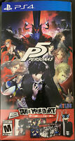Persona 5: Take Your Heart Premium Edition (SONY PlayStation 4, 2017)