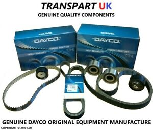 LAND ROVER DISCOVERY 4 3.0 TDV6 SDV6 FULL TIMING BELT KIT AND DRIVE BELT DAYCO