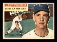1956 Topps Set Break #307 Hoyt Wilhelm VG-EX *OBGcards*