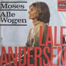 "7"" 1965 RARE IN VG+++! LALE ANDERSEN Moses + Alle Wogen"