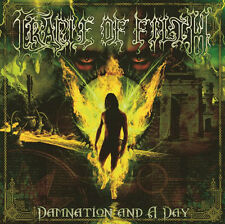 Cradle Of Filth ‎– Damnation And A Day on Yellow/Black Vinyl 2LP NEW & SEALED