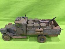 ? Tamiya 1/35 Segunda Guerra Mundial camión ruso con cargo precioso artículo. Pintado y construido.