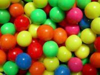 Multicolour Bubble Gum Balls 1kg Bulk Kids Party Sweets
