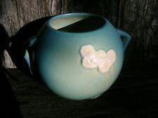 Vintage Roseville Art Pottery 285-6 Primrose Blue Flower Vase Planter
