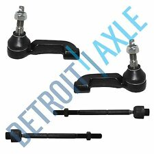 NEW 4pc Front Suspension Inner & Outer Tie Rod Set for 2002 - 2004 Jeep Liberty