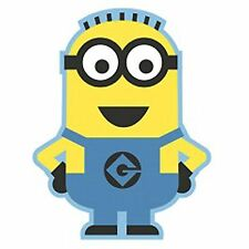Despicable Me Minion Shaped Rug Mat Kids Childrens Character Bedroom 80x100cm