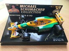 Minichamps 1/43 Michael Schumacher Benetton Ford B192 GP Belgium #1