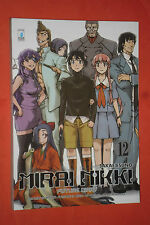 MIRAI NIKKI-N°12-raro variant cover con poster-FUTURE DIARY-DI:SAKAE ESUNO-MANGA