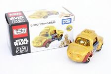 Takara Tomy Tomica SC-06 Star Wars Car C-3PO (The Force Awakens) Diecast Toy Car
