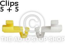 Cerradura De Puerta Rod Clip 4 Mm Renault kangoo/koloes Etc Parte No. 1277re Cantidad 5 + 5