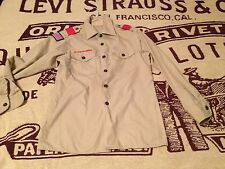 DISTRESSED BSA BOY SCOUT LONG SLEEVE SHIRT SIZE YOUTH LARGE 14-16