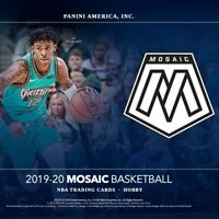 2019-20 Panini Mosaic Base Set Singles Basketball Sports Trading Cards #151-300