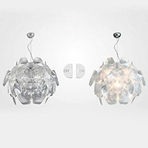 JiaYouJia Pendant Lamp Suspension Hanging Light Chandelier, Small