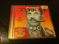 Gregariously Groucho Marx CD Brothers (bros) w Chico Marylon Monroe comedy HTF