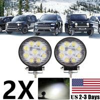 2x Mini Pods LED Work Light SPOT Lights For Truck Off Road Tractor 12V 24V Round