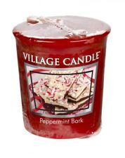 Village Candle Votive Sampler Highly Fragranced 16 Hour Burn Peppermint Bark