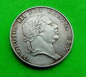 CHOICE  UNC  IRISH  *1813*  SILVER 10  PENCE  10d ...LUCIDO_8  COINS