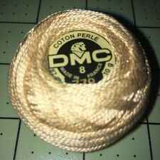 Dmc Pearl/Perle Cotton Ball Size 8, #738 Tan/Taupe