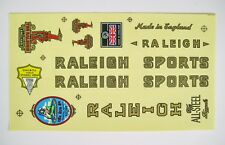 RALEIGH STICKER FOR VINTAGE BICYCLE BIKE RALEIGH DECALS SET