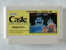Castle NES ASCII Nintendo Famicom From Japan