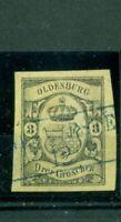Oldenburg, Wappen , Nr. 8 gestempelt Befund BPP