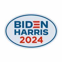 "Oval Campaign Magnet, Joe Biden Kamala Harris 2024 Logo, 6"" x 4"" Magnet"