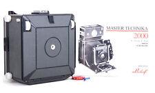 New Linhof TECHNIKA 2000 4x5 folding Steel Grey leather Limited camera