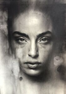Charcoal artwork on A2 (42cm/59cm) Strathmore paper