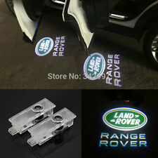 No Drill CREE Door Step laser projector Logo Ghost Shadow Light 03-12 Land Rover