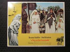 "1969 A NUN AT THE CROSSROADS Original 14x11"" Lobby Card #2 3 7 8 LOT of 4 FN-/FN"