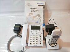 Panasonic VE-GP31-W Cordless Phone Answering Machine Handsets from Japan