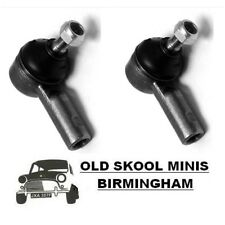 CLASSIC MINI STEERING TRACK ROD END GSJ734 x2 AUSTIN ROVER RACK COOPER PAIR 6D6