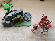 Playmobil Knights Set With Treasure Cart