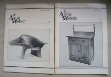 Lot 2 1985 The American Woodworker Magazines Back Issues Woodworking Wood Shop