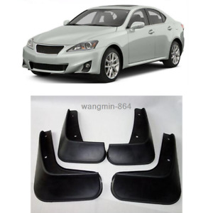 For LEXUS IS300/IS250 07-13 New Mudguards Splash Guards Mud Flaps Front Rear