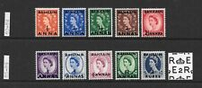 1952 Queen Elizabeth II SG80 to SG89 full Set of 10 stamps MNH BAHRAIN