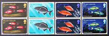1970 Pitcairn Islands Decimal Stamps - Marine Life - Pitcairn Fish-Set 4x2 LMH