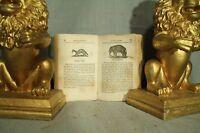 antique old little book Buffon's Natural History 1832 animals birds fish serpent