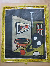 Paul Otto Haug c.1940 German Expressionist painting