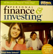 Personal Finance Investing Cdrom Computer Software New