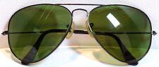 RAY-BAN Vintage BLACK AVIATOR RAYBAN Sunglasses Lunettes Bausch & Lomb ORIGINAL
