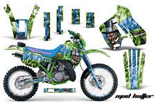 Kawasaki KDX200 Graphic Kit AMR Racing # Plates Decal Sticker Part 89-94 KDX MH
